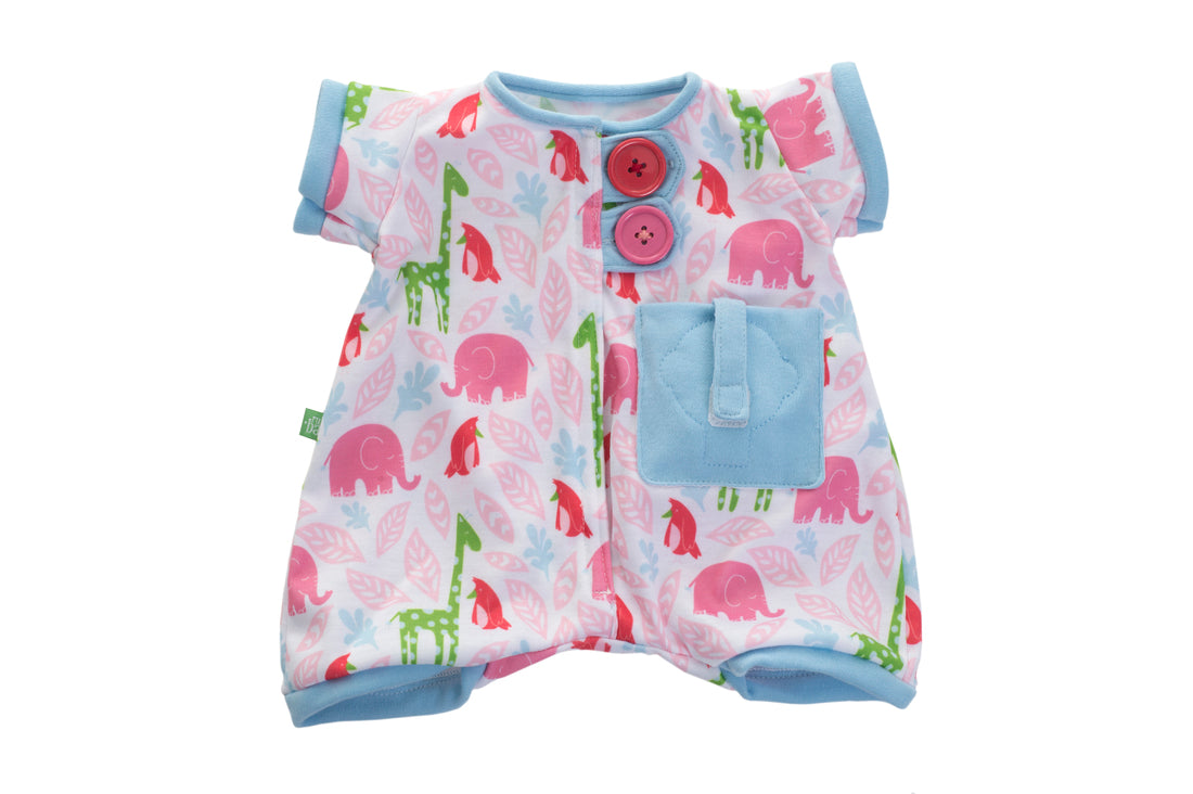 Rubens Barn Pocket Friends Pyjamas in pink
