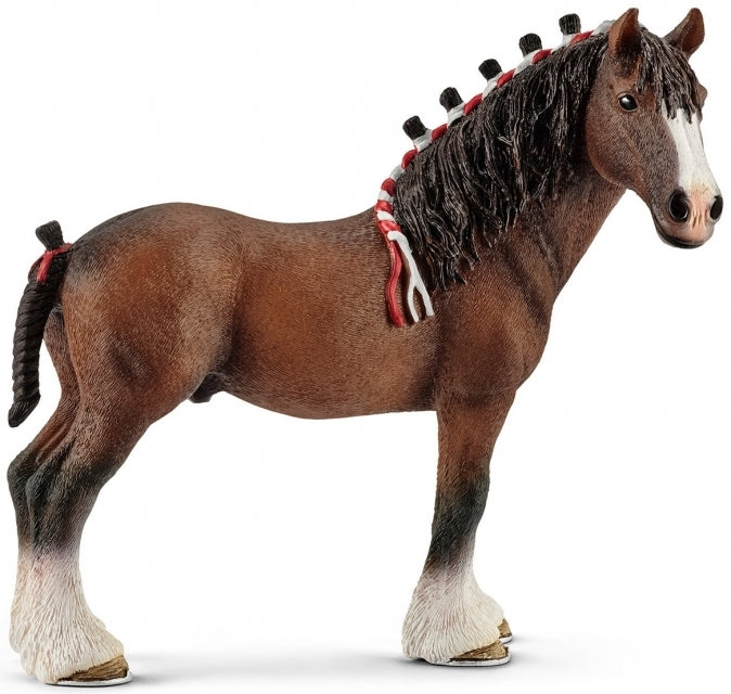 Schleich 13808 Clydesdale Gelding Horse available at Little Sprout toy shop