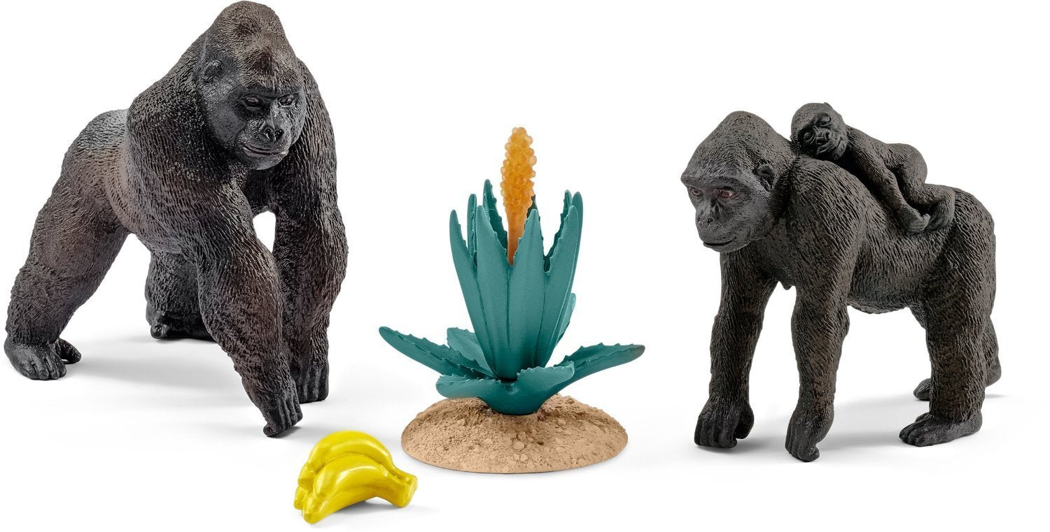 Schleich 42276 Gorilla Family Little Sprout