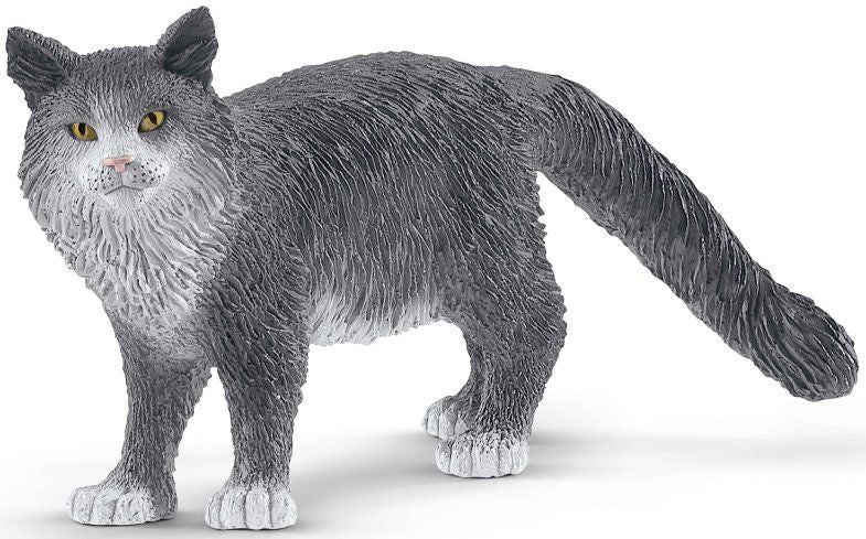 Schleich 13893 Maine Coon Cat at Little Sprout