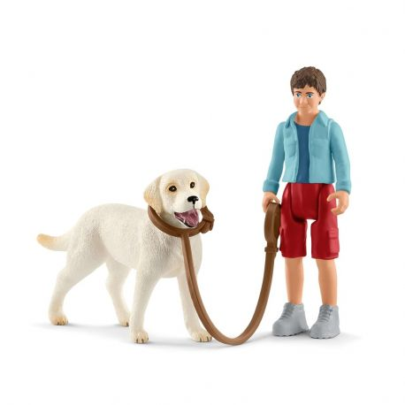 Schleich 42478 Labrador Walking