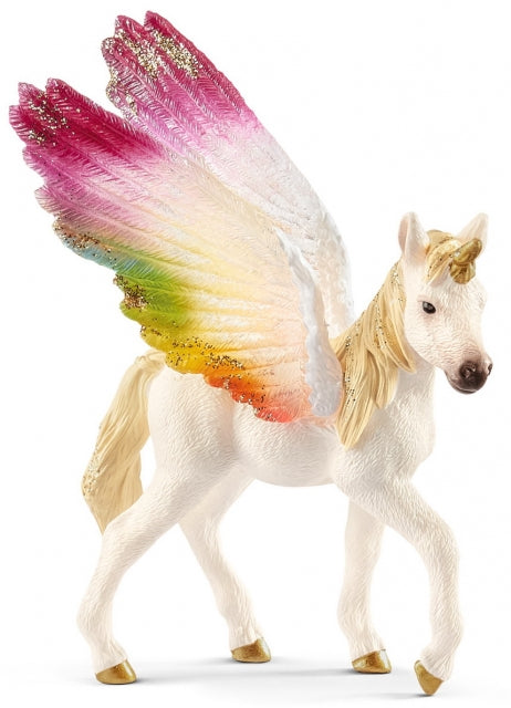 Schleich Bayala 70577 Winged Rainbow Unicorn Foal at Little Sprout