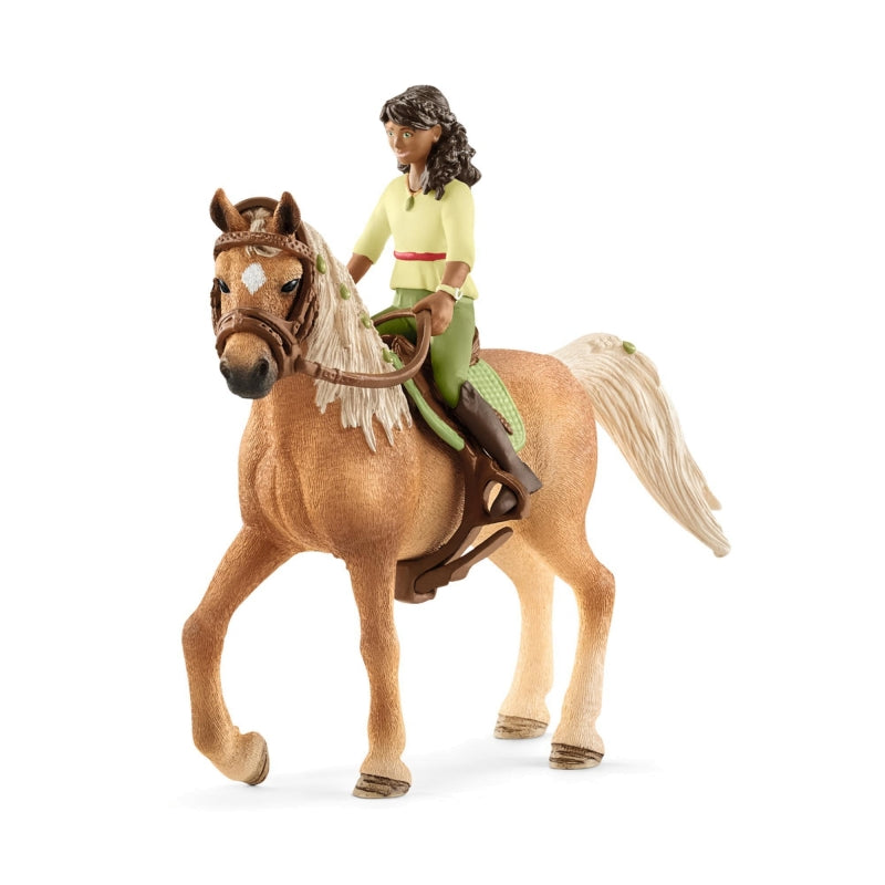NEW in 2018 - Schleich 42414 Sarah and Mystery