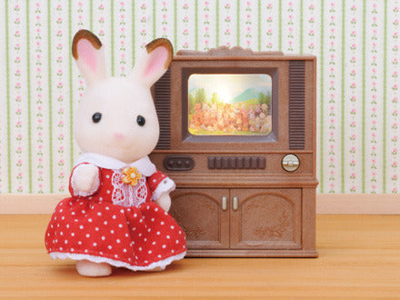 Sylvanian Families Deluxe Television TV Set available at Little Sprout
