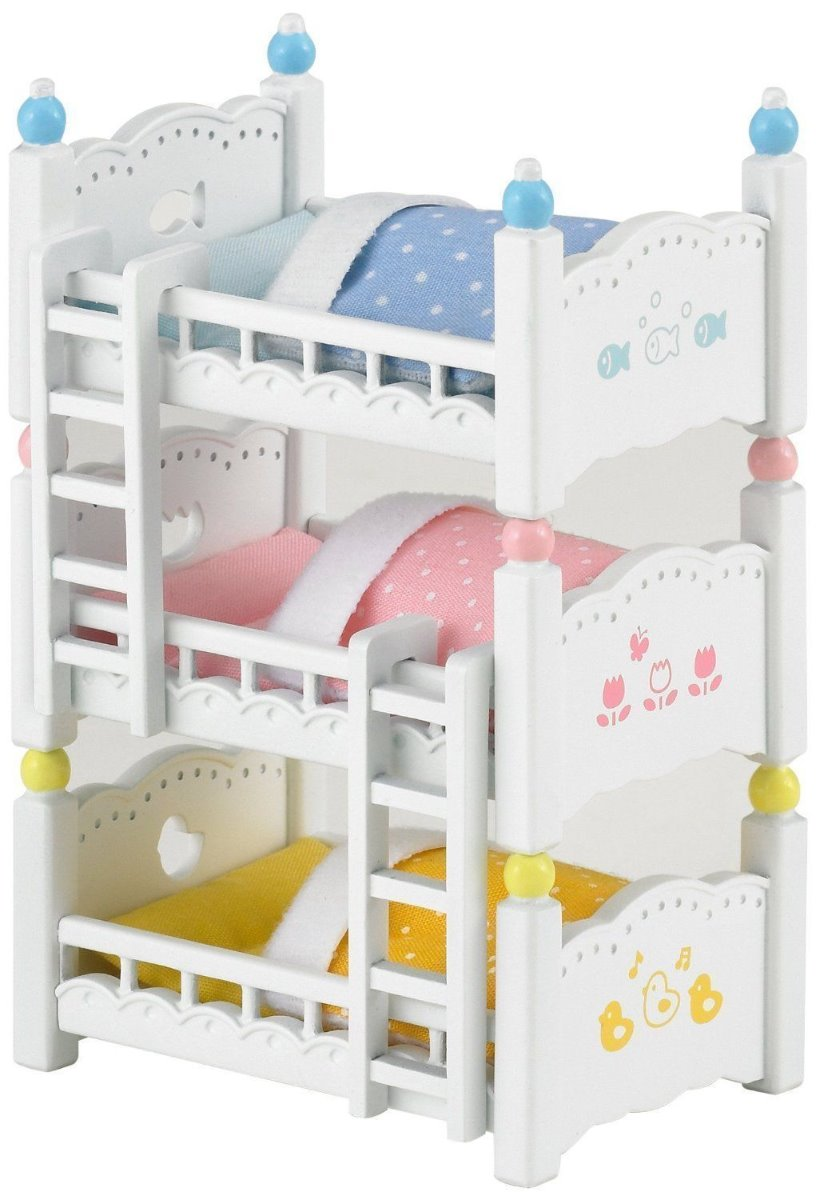 Sylvanian Families 4448 Triple Bunk Beds available online at Little Sprout