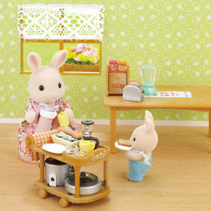 Sylvanian Families 5090 Kitchen Cookware Set available online at Little Sprout