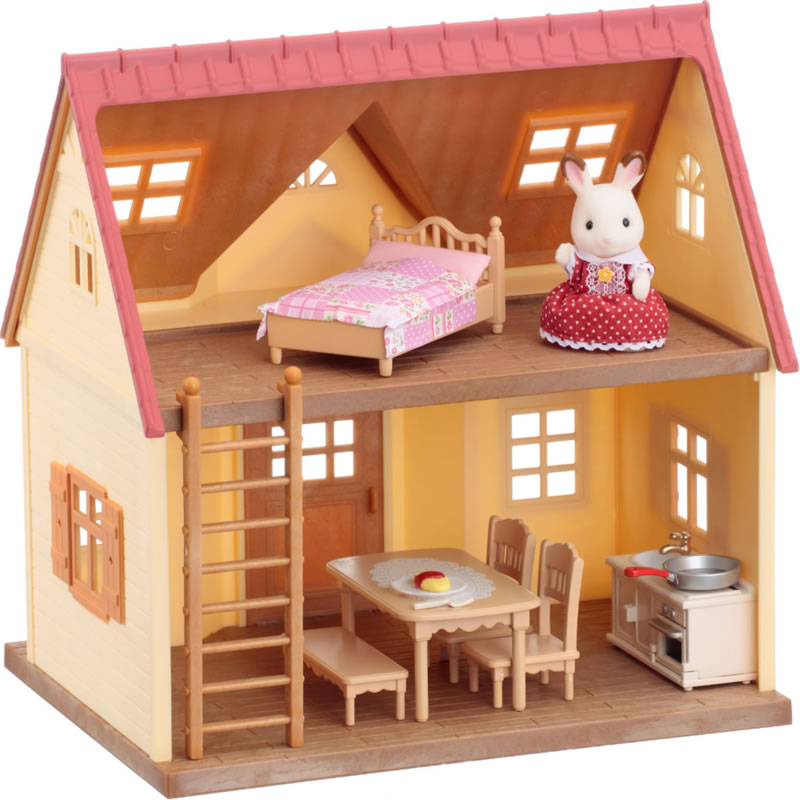 Sylvanian Families 5242 Cosy Cottage Starter Home available at Little Sprout