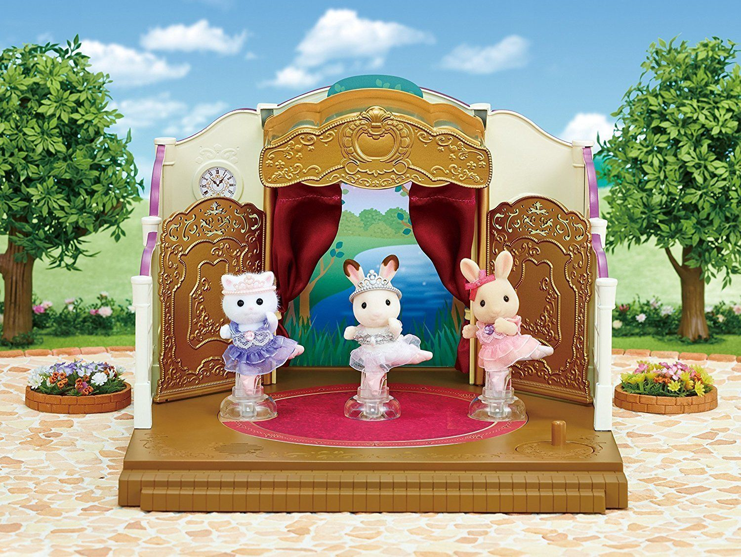 Sylvanian Families 5257 Ballerina Friends available at Little Sprout