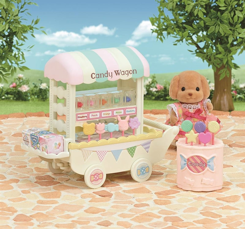Sylvanian Families Candy Wagon 5266 available online at Little Sprout