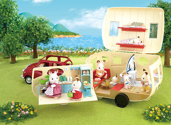 Sylvanian Families Caravan SF 5045 Available online at Little Sprout