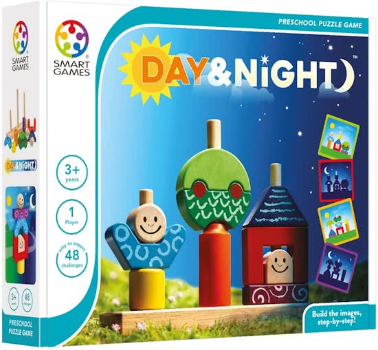 Smart Games Day and Night Puzzle Game