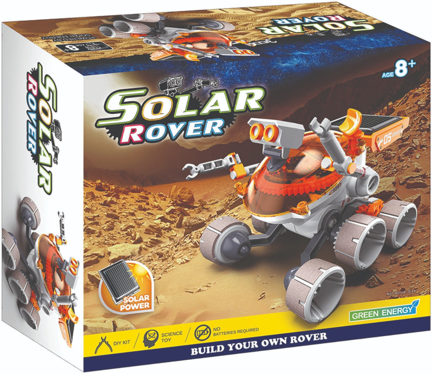Solar Rover Robot at Little Sprout