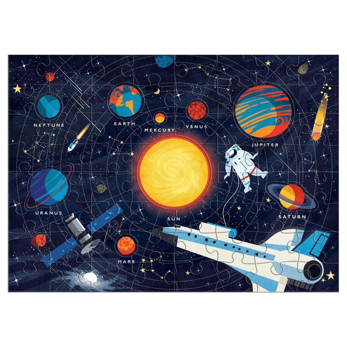 Mudpuppy Solar System 70 Piece Puzzle at Little Sprout