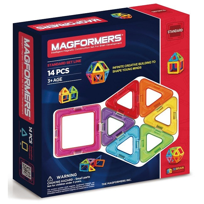 Magformers - Standard Set 14 Pc