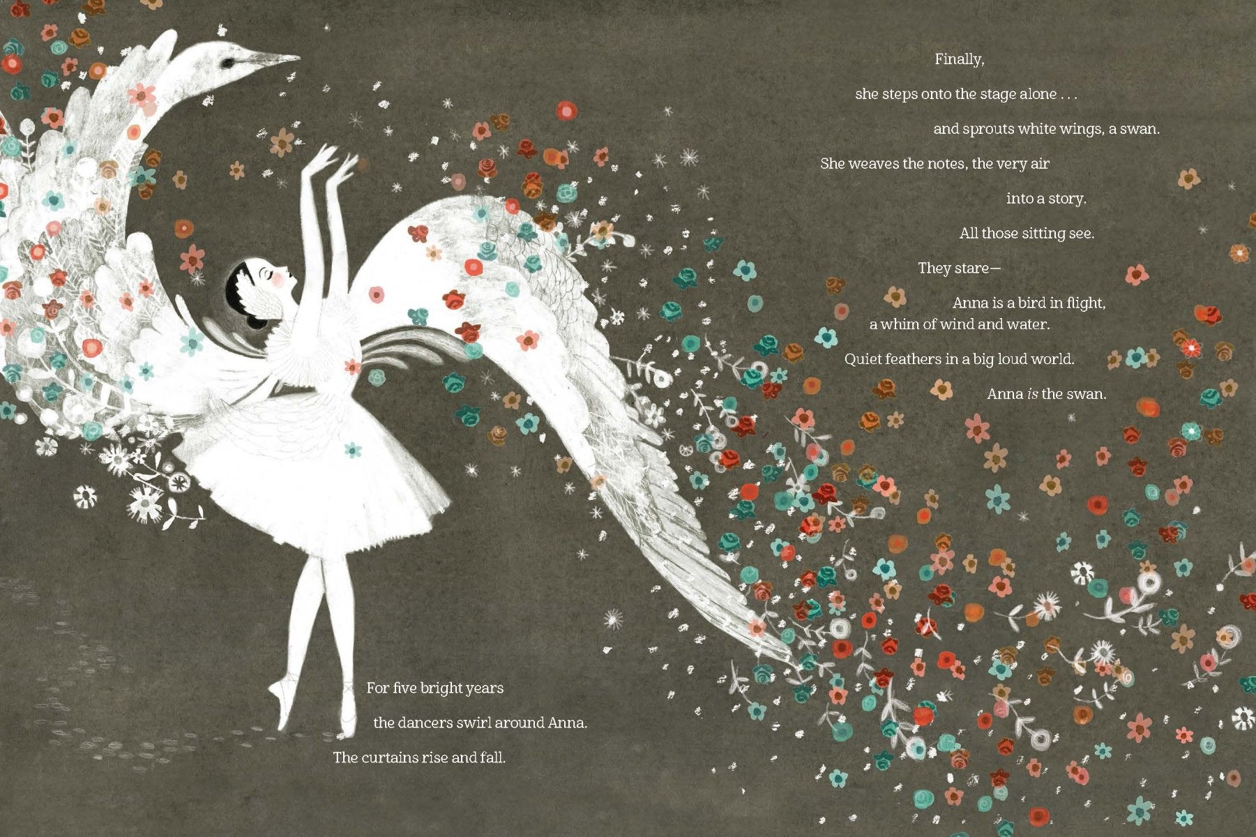 Swan - The Life and Dance of Anna Pavlova by Laurel Snyder