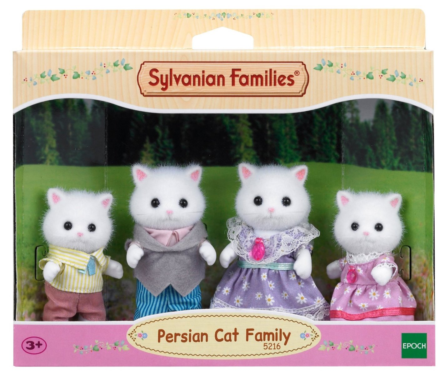 Sylvanian Families Persian Cat Family at Little Sprout
