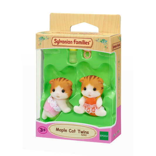 Sylvanian Families 5292 Maple Cat Twins available at Little Sprout