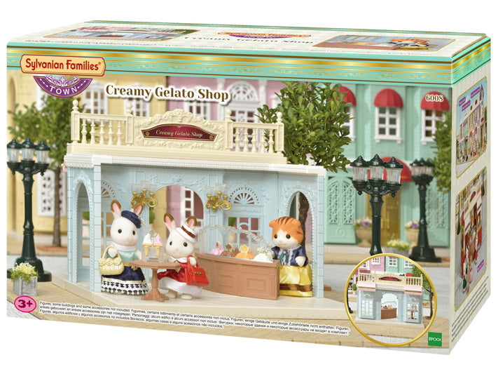 NEW Sylvanian Families 6008 Creamy Gelato Shop available at Little Sprout