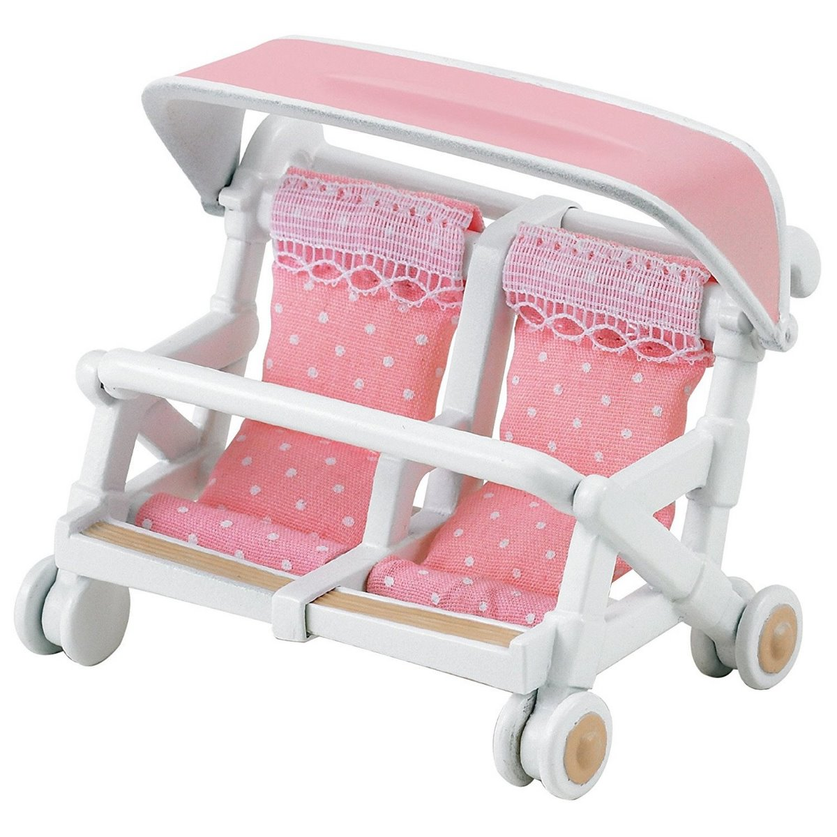 Sylvanian Families 4533 Double Pushchair Pram available at Little Sprout