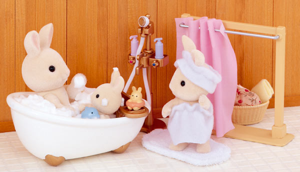 Sylvanian Families Bath and Shower Set 5022 available at Little Sprout