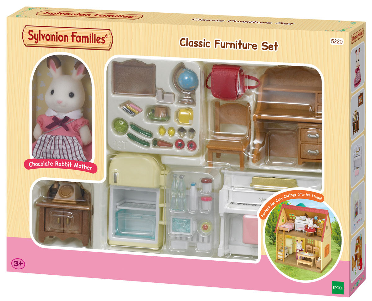 Sylvanian Families Classic Furniture Set available at Little Sprout