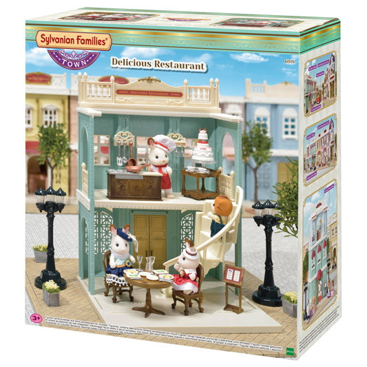 NEW Sylvanian Families 6018 Delicious Restaurant available at Little Sprout