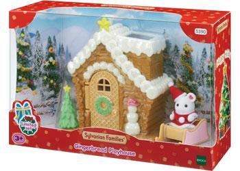 Sylvanian Families Christmas Gingerbread Playhouse
