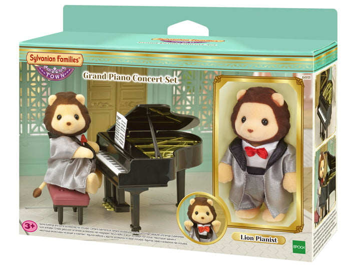 NEW Sylvanian Families 6011 Grand Piano Concert Set
