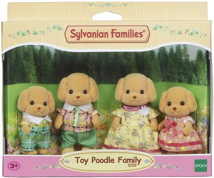 Sylvanian Families Toy Poodle Set available at Little Sprout