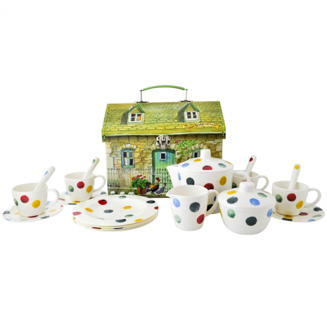 Childrens Melamine Tea Set - Emma Bridgewater Dot House