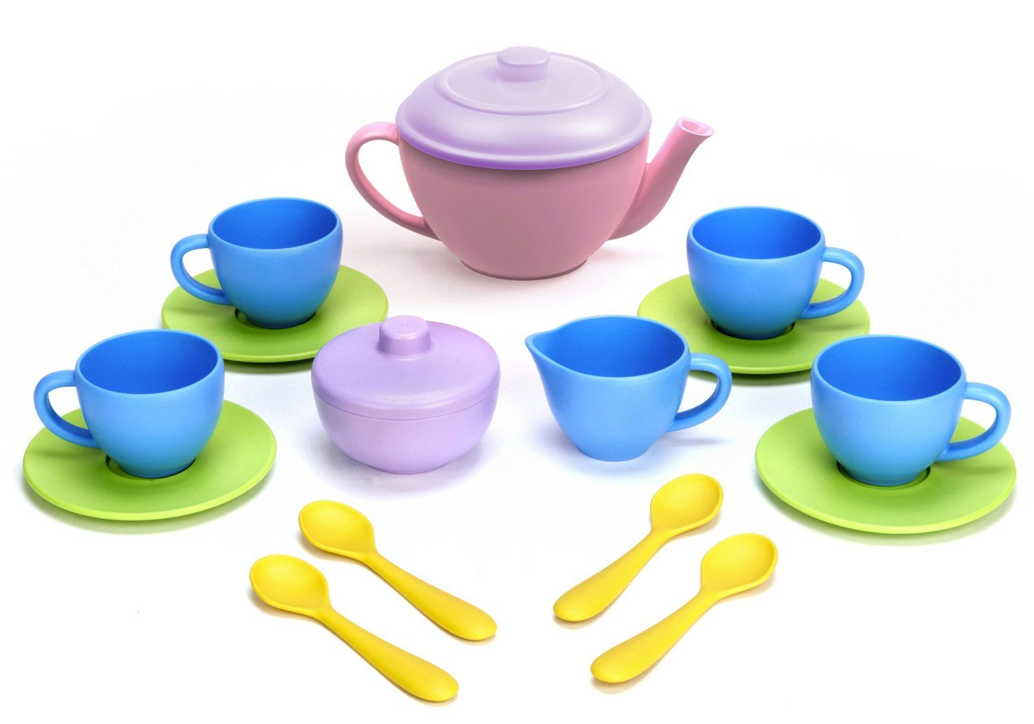 Green Toys - Tea Set 15 Pc