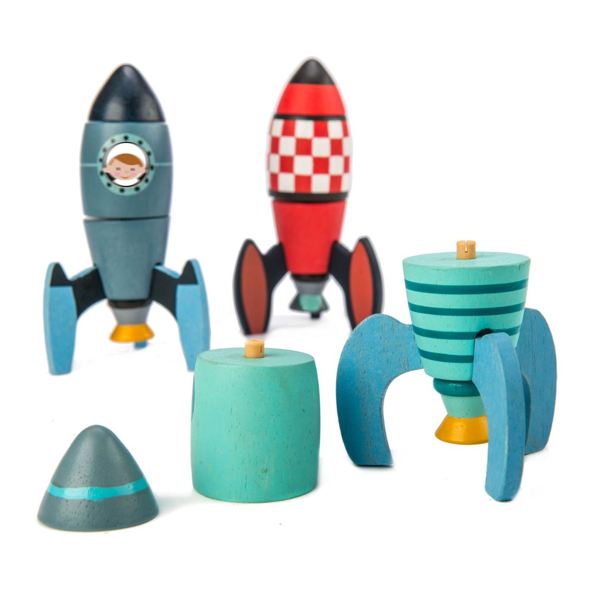 New Tender Leaf Toys Rocket Construction at Little Sprout