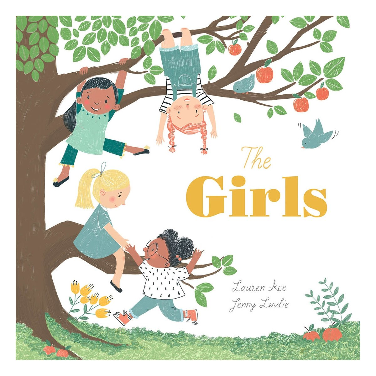 The Girls Book by Lauren Ace and Jenny Lovlie