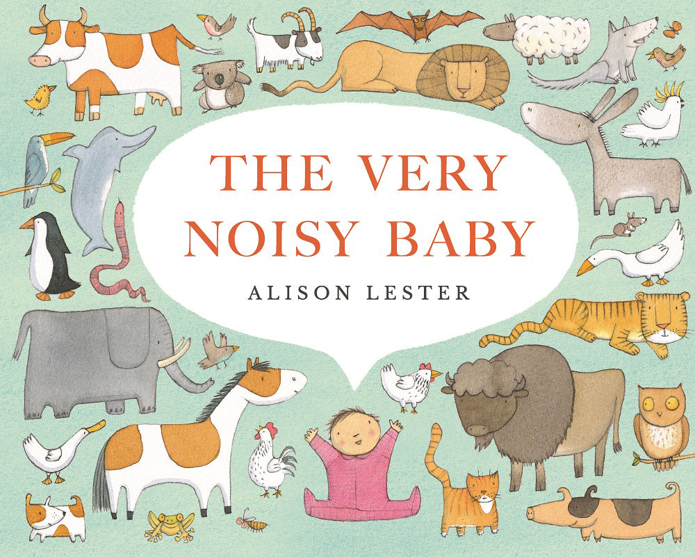 The Very Noisy Baby hardback book
