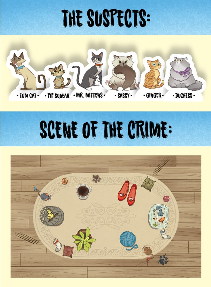 Thinkfun Cat Crimes Logic Game available at Little Sprout