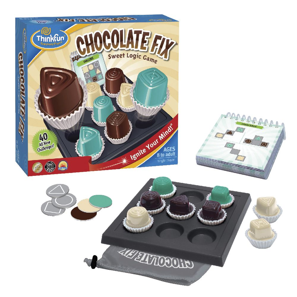 Thinkfun Chocolate Fix Logic Game available at Little Sprout