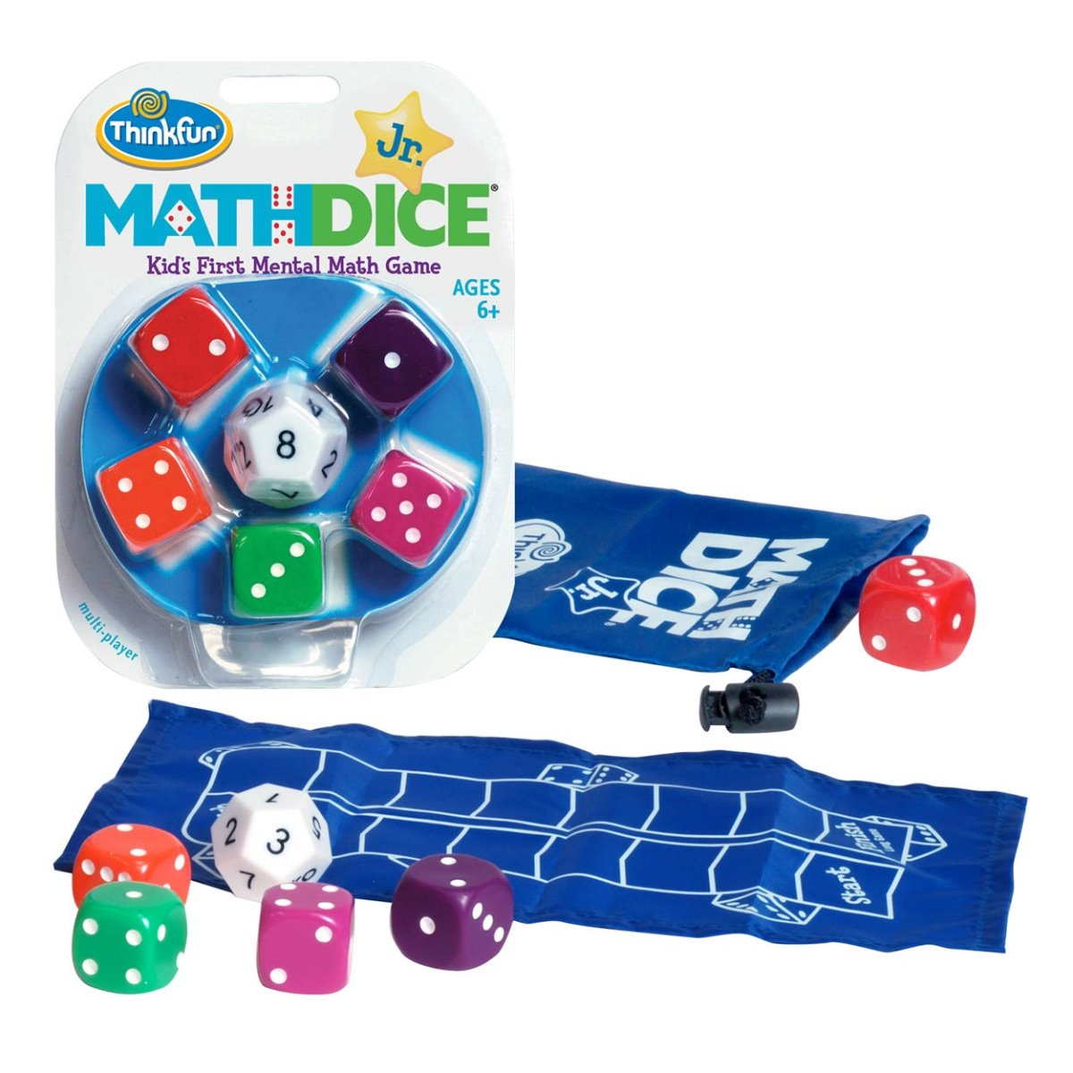 Thinkfun Math Dice Jr available at Little Sprout