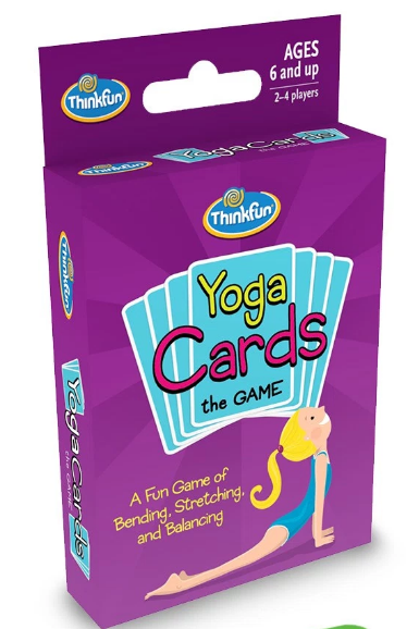 Thinkfun Yoga Cards the Game Box