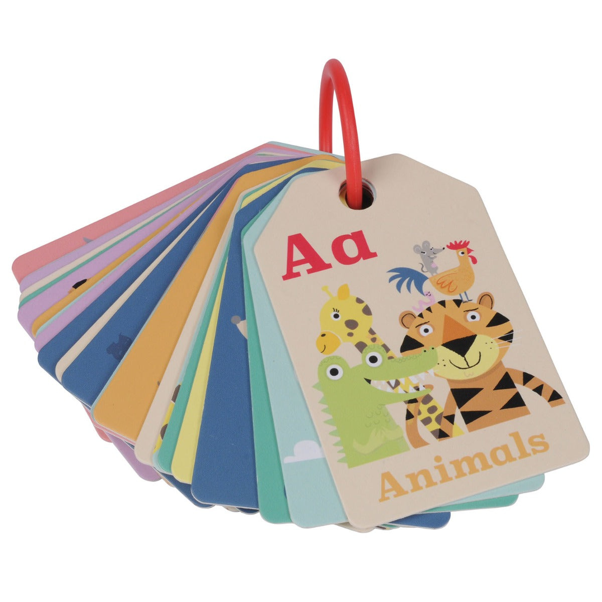 Tiger Tribe Animal ABC Flash Cards