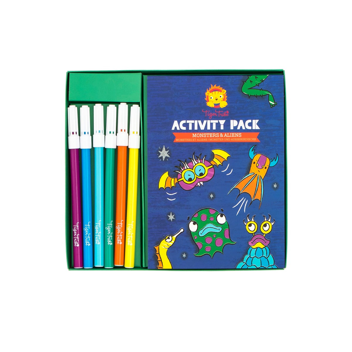 Tiger Tribe Activity Pack Monsters and Aliens