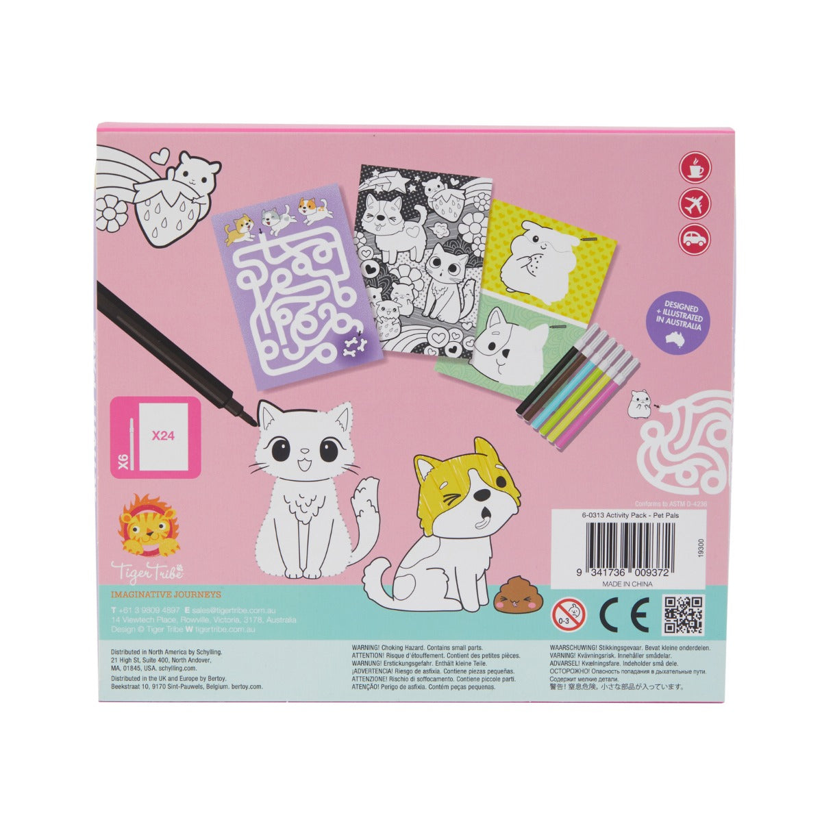 Tiger Tribe Activity Pack Pet Pals