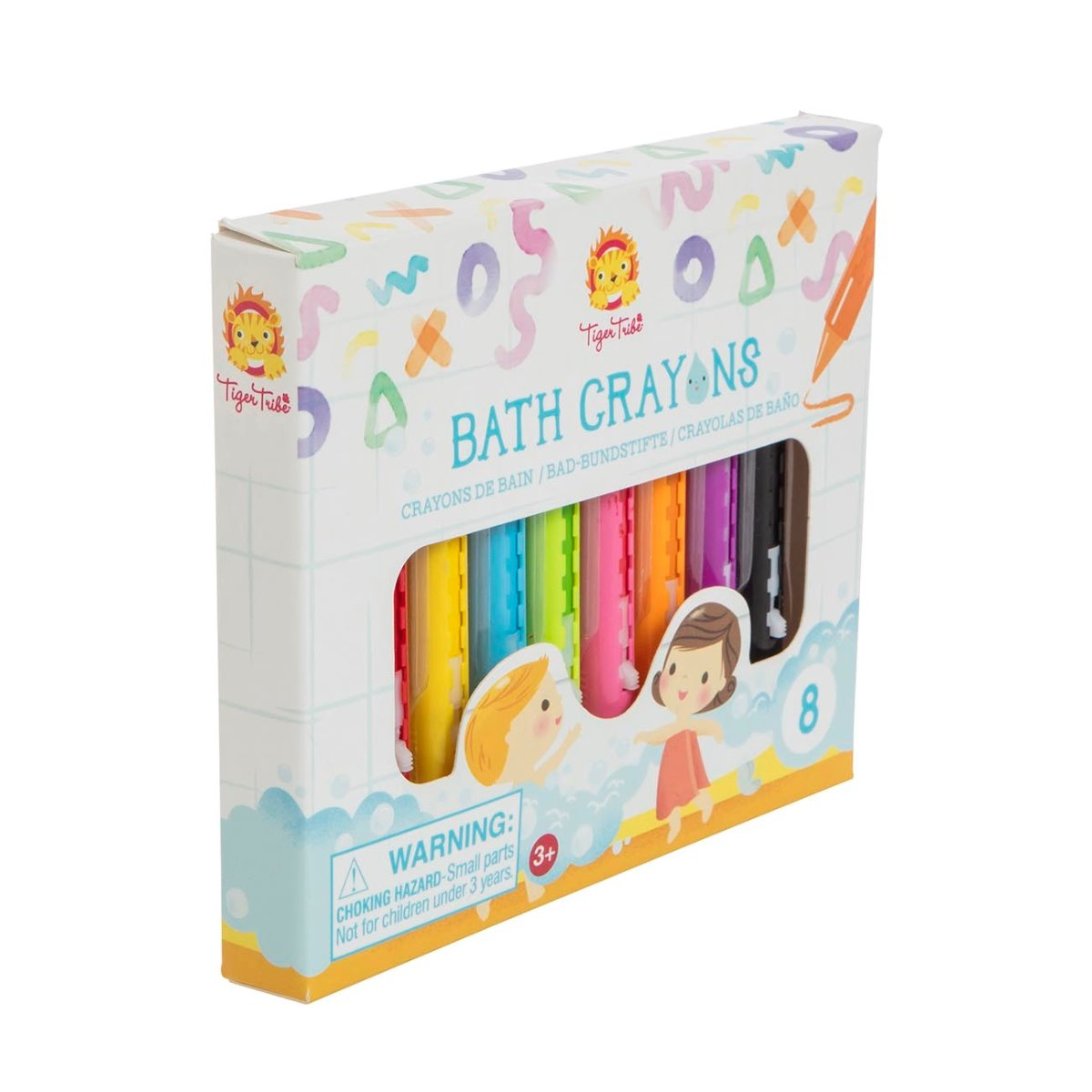 Tiger Tribe Bath Crayons in 8 colours