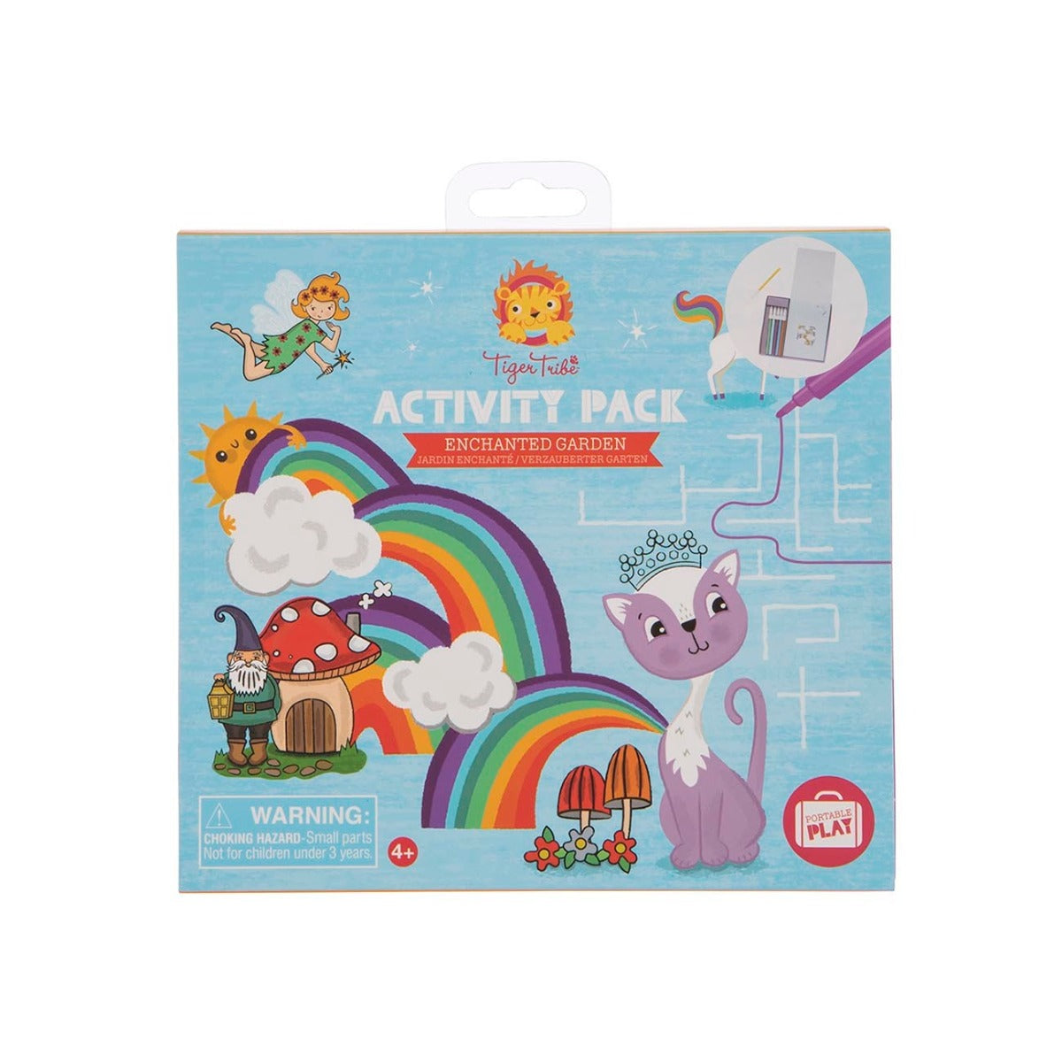 Tiger Tribe Activity Pack Enchanted Garden