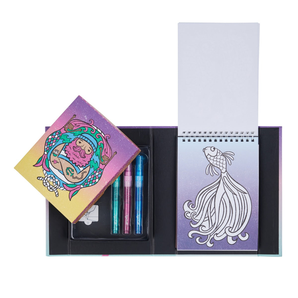 Glitter Colouring Set Ocean Dreams at Little Sprout