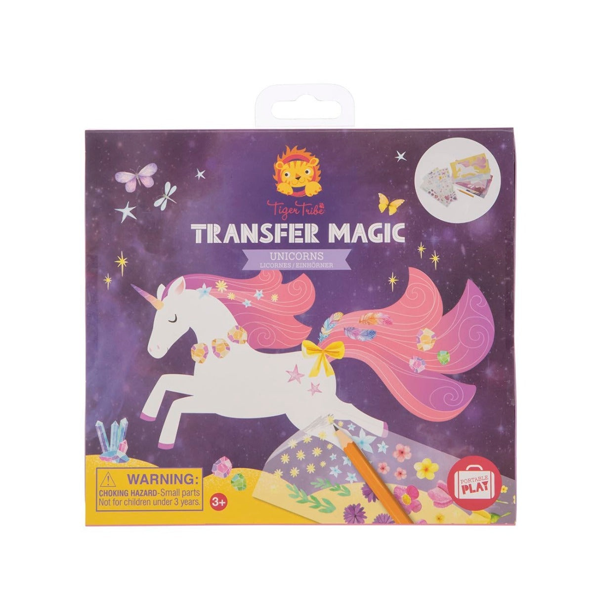 Tiger Tribe Transfer Magic Unicorns at Little Sprout