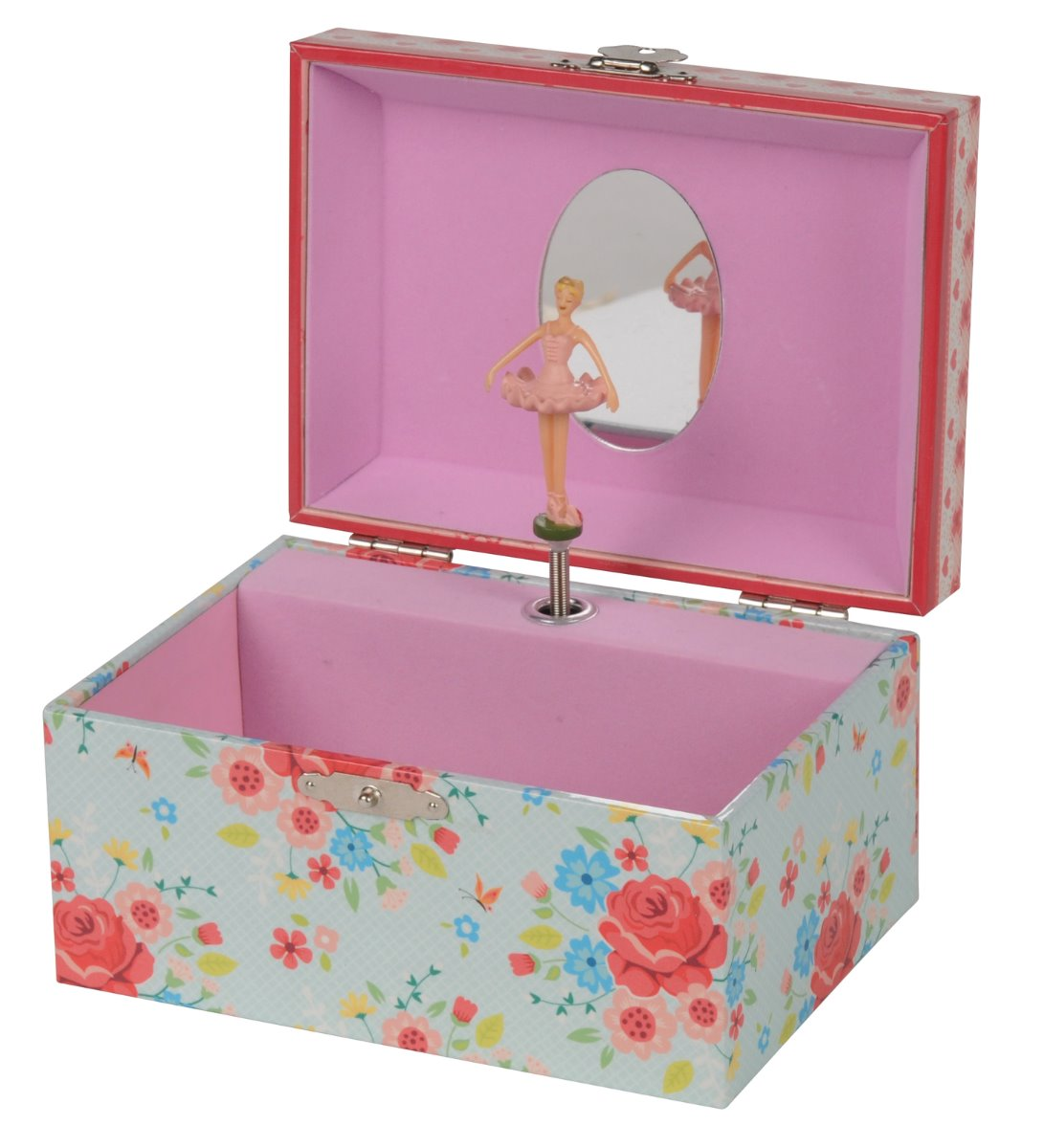 Tiger Tribe children's musical Jewellery Box Rose Garden