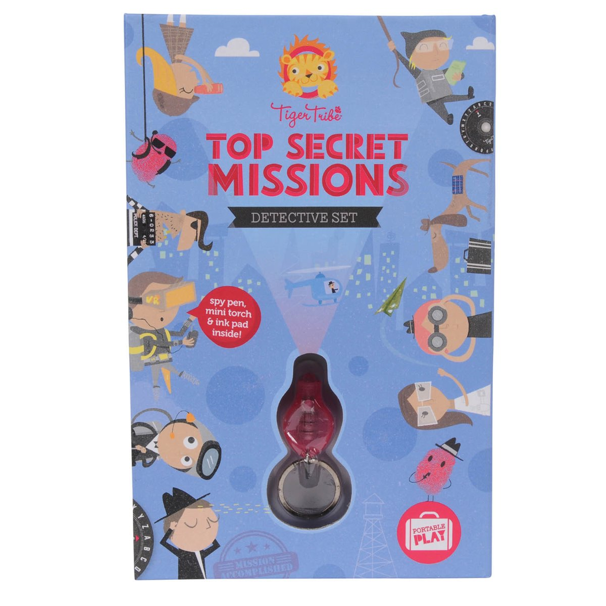 Tiger Tribe - Top Secret Missions Detective Set