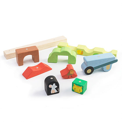 Tender Leaf Toys Magnetic Garden Stacking puzzle