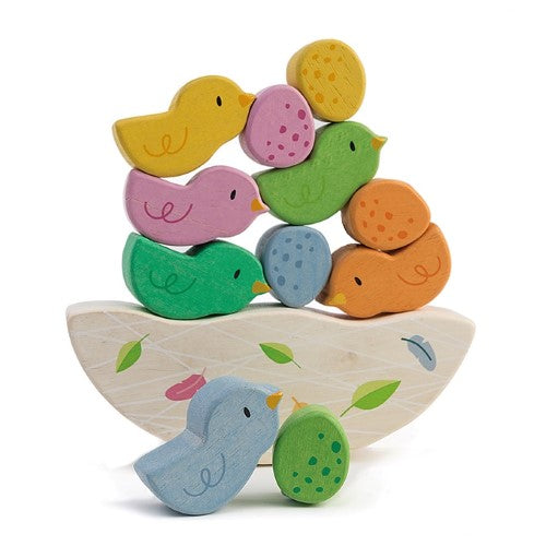 Tender Leaf Toys Rocking Baby Birds toddler wooden toy