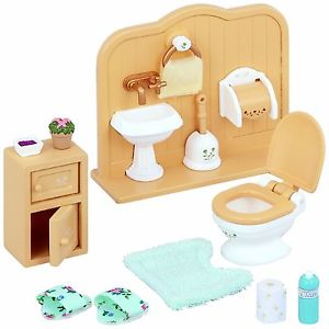 Sylvanian Families Toilet Set SF 5020 available at Little Sprout
